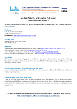 Medical Robotics and Surgical Technology
