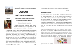 OLHAR - Paróquia de Aljubarrota