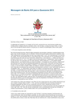 Mensagem-de-Bento-XVI-para-a-Quaresma-2013