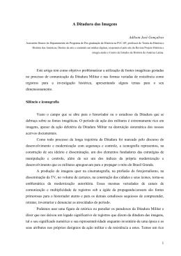 A Ditadura das Imagens