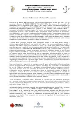 CONSEJO EPISCOPAL LATINOAMERICANO Departamento