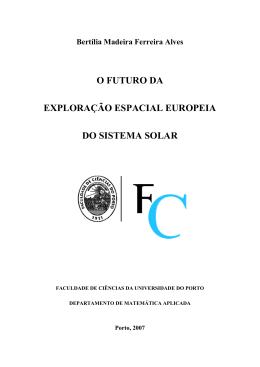 o futuro da exploração espacial europeia do sistema solar