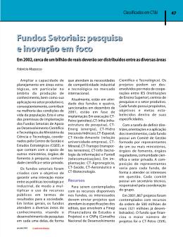 Classificados em CT&I - Universidade Federal de São Carlos
