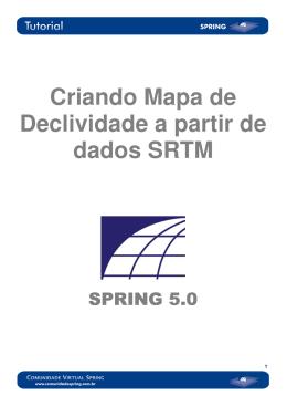 Criando Mapa de Declividade a partir de dados SRTM