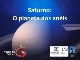 Saturno: O planeta dos anéis