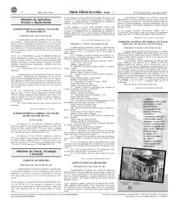 6 2 Ministério da Agricultura, Pecuária e Abastecimento
