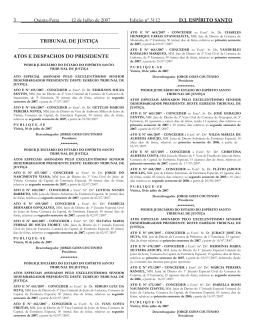 Word Pro - 12072007.lwp - Tribunal de Justiça do Espírito Santo