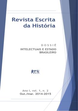 artigos - Revista Escrita da História