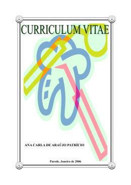 Currículo - Médicos de Portugal