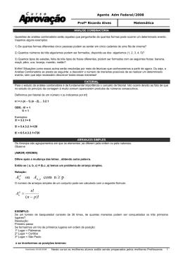 pn com ≥ Aou A - Curso Aprovação