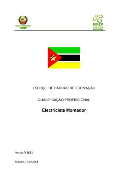 Electricista Montador (pdf, Portuguese)