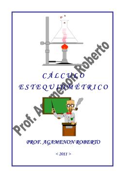 CÁLCULO ESTEQUIOMÉTRICO - Química