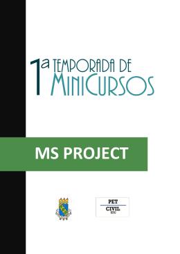 Apostila – MS Project