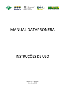 MANUAL DATAPRONERA