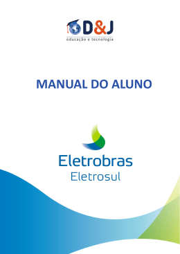 MANUAL DO ALUNO - A EAD na Eletrosul
