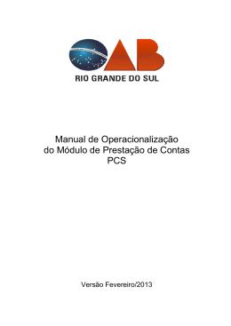 Manual PCS