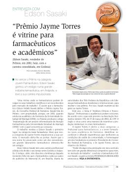 Entrevista - Edson Sasaki - Conselho Federal de Farmácia