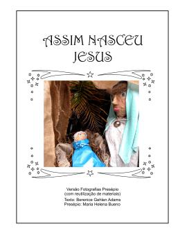 ASSIM NASCEU JESUS