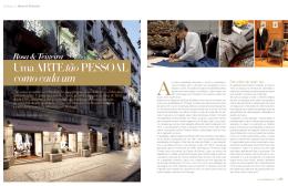 Turbilhão Rosa & Teixeira: Uma Arte tão pessoal como cada um