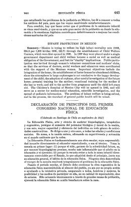 443 declaración de principios del primer congreso nacional de