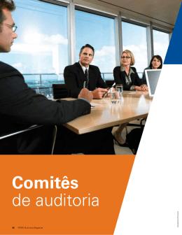 Comitês de auditoria