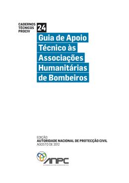 Guia de Apoio Técnico às Associações Humanitárias de Bombeiros