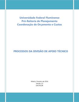 processos da divisão de apoio técnico em pdf