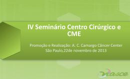 Centro de Material e Esterilização (CME)