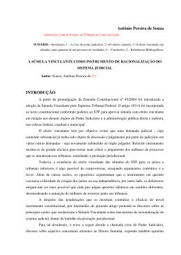 Antônio Pereira de Souza INTRODUÇÃO