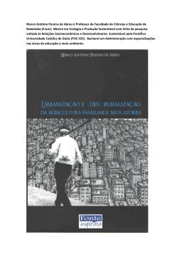 Marco Antônio Pereira de Abreu é Professor da Faculdade
