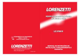 MANUAL LZ 3700 D 05.11