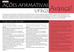 Carta ações afirmativas III