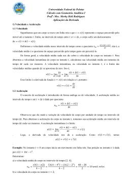 Msc. Merhy Heli Rodrigues Aplicações da Derivada