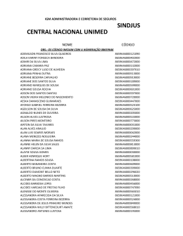 CENTRAL NACIONAL UNIMED SINDJUS