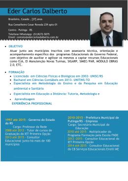 Eder Carlos Dalberto - cursoprimeiraopcao.com.br