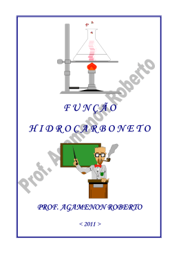 função hidrocarbonetos - Química