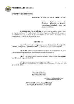 Decreto Nº 2599 de 19/04/2013