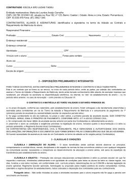 Contrato Escolar 2012