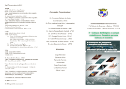 Folder - Universidade Federal do Acre