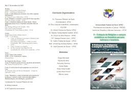 Folder - Universidade Federal do Acre