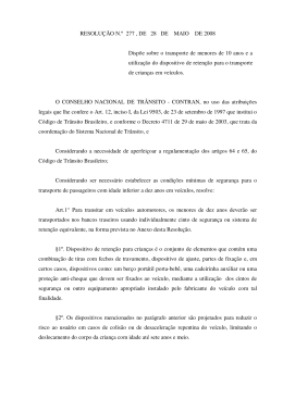 Resolução n° 277 do Contran