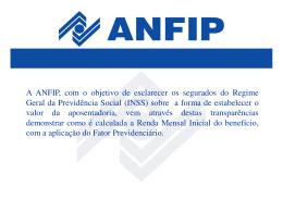 PDF: Fator Previdenciário 2014