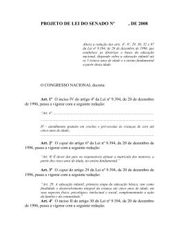 Texto Inicial - Senado Federal