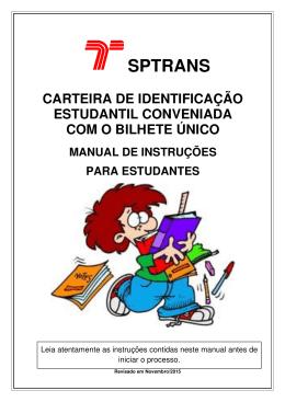 Manual para Estudantes - Canal do Estudante