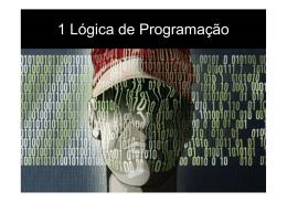 1 Lógica de Programação - Escola Profissional Gustave Eiffel