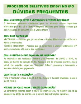 DÚVIDAS FREQUENTES