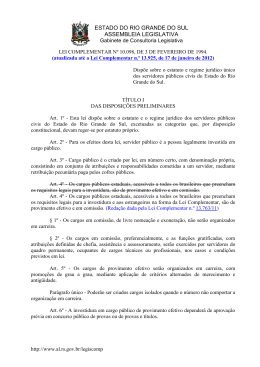 Lei Complementar nº 10.098