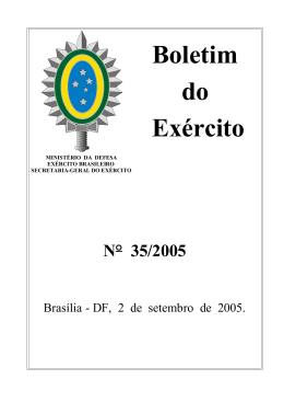 BE35 - Secretaria-Geral do Exército