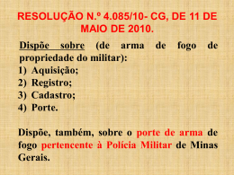 aula – resolucao 4085- 21-04-14