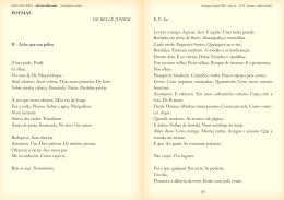 Acho que sou pólen e outros poemas – Belle Júnior